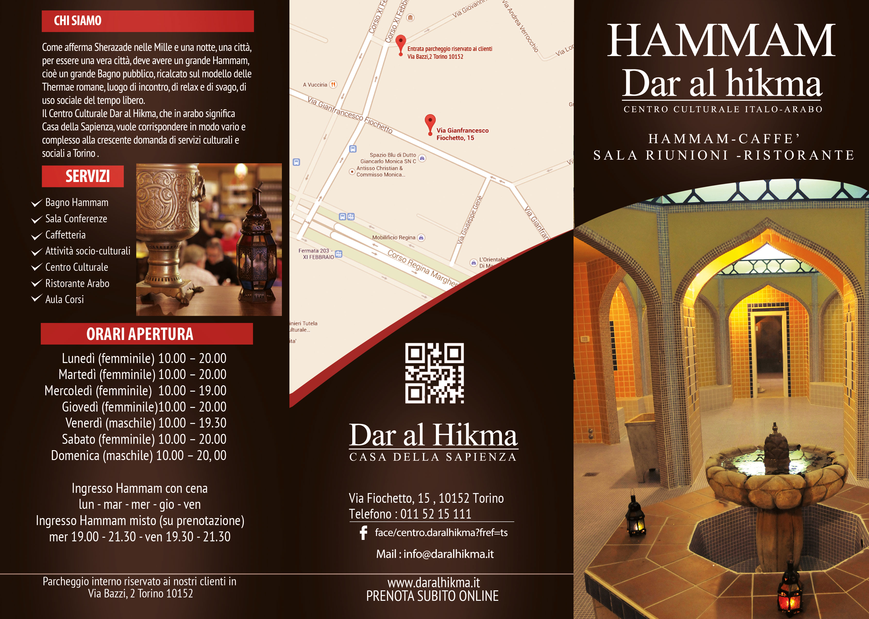 HAMMAM AL BAB (TORINO – ITALY) | Dar al Hikma